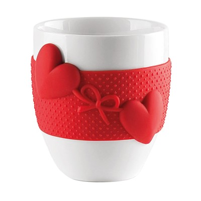 Кружка Love, 360 мл, красная - Фото 1