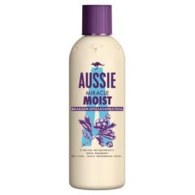 Бальзам-ополаскиватель Aussie Miracle Moist lля сухих и повреждённых волос, 90 мл