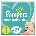 Подгузники Pampers New Baby-Dry (2-5 кг), 27 шт - Фото 1