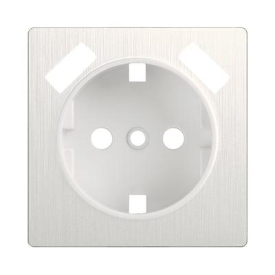 Накладка для USB розетки WL13-USB-CP, цвет перламутровый рифленый
