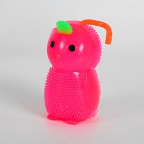 Ёжка «Птенчик», с пищалкой, цвета МИКС