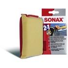 Универсальная мягкая губка для удаления насекомых двухсторонняя Sonax