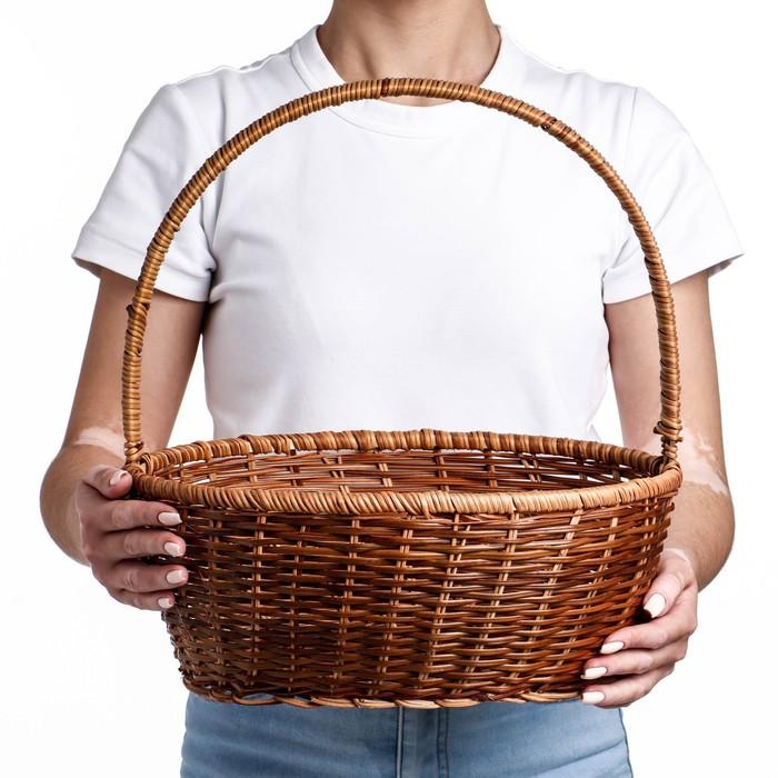 купить Корзина, 34271339 см, лоза, кукуруза