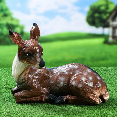 """Садовая фигура """"Косуля"""", коричневый цвет, 27 см - Фото 1"""