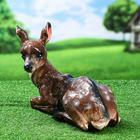 """Садовая фигура """"Косуля"""", коричневый цвет, 27 см - Фото 2"""