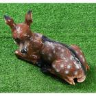 """Садовая фигура """"Косуля"""", коричневый цвет, 27 см - Фото 4"""