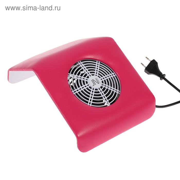 Пылесос для маникюра JessNail SD-39М, 23 Вт, 2 мешочка/фильтра, цвет коралловый