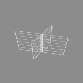 Разделитель для корзины 600x600x200 (комплект), цвет белый Ош