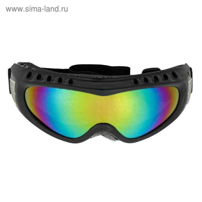 Очки для езды на мототехнике Torso, стекло хамелеон, черные