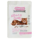 Влажный корм Chammy Premium для котят, цыпленок/телятина, 85 г