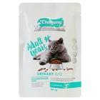 Влажный корм Chammy Premium для стерилизованных кошек, телятина, 85 г