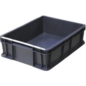 Ящик универсальный сплошной 400*300*120 черный