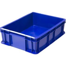 Ящик универсальный сплошной 400*300*120 синий Ош