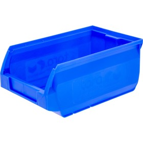 Лоток для склада Sanremo, сплошной, 170х105х75 синий Ош