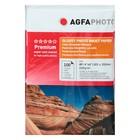 Фотобумага AGFA 10х15, 100 листов, глянцевая, 210 г/м², в пакете