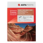 Фотобумага AGFA 13х18, 210 г/м², 100 листов, глянцевая, в коробке
