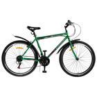 """Велосипед 26"""" Progress модель Crank RUS, 2019, цвет зелёный, размер 17"""""""