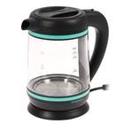 Чайник электрический Starwind SKG7740, 2200 Вт, 1.7 л, черно-синий