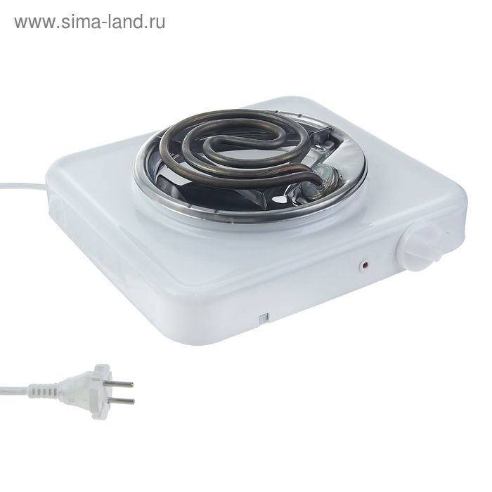"""Плитка электрическая """"Пскова-1"""" ЭПТ-1/1,0-220, нержавеющая чаша, 1000 Вт"""