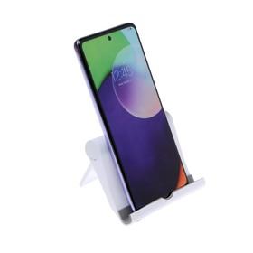 Подставка для телефона LuazON, складная, регулируемая высота, белая Ош