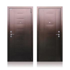 Сейф-дверь «Берлога СБ-90», 970 × 2050 левая, цвет медный антик