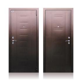 Сейф-дверь «Берлога СБ-90», 870 × 2050 правая, цвет медный антик