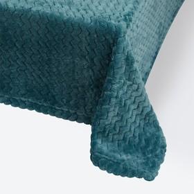 Плед Modern, размер 180 × 200 см, цвет бирюзовый