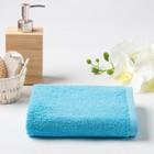 Полотенце махровое, 30х30 см, цвет голубой МИКС - Фото 1
