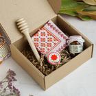 Подарочный набор «Живите медово», 15 х 13 х 5,5 см