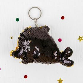 Мягкий брелок-хамелеон «Рыбка», цвета МИКС Ош