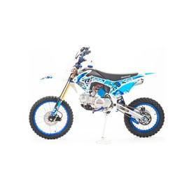 Мотоцикл кросс CRF125, синий, 125 см3, 4 скорости