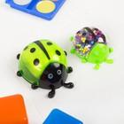 Набор для творчества «Слим божья коровка с шариками своими руками», цвет зелёный