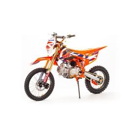 Питбайк MotoLand WRX125, 125см3, оранжевый