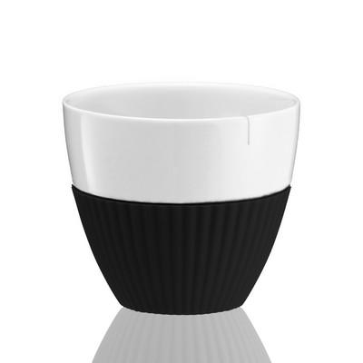 Чайный стакан Anytime 300 мл, 2 шт, чёрный - Фото 1