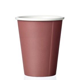 Чайный стакан Laurа 200 мл, бордо