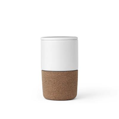 Чайный стакан Cortica 370 мл, белый - Фото 1