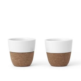 Чайный стакан Lauren 150 мл, 2 шт, белый