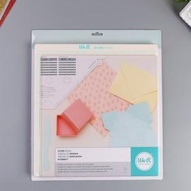 Доска для биговки и создания конвертов и коробок WRMK «Score Board» Ош