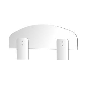 Универсальное ограждение для кровати, 700 × 48 × 220 мм, цвет белый Ош