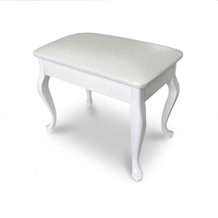 Банкетка «Азалия», 530 × 320 × 430 мм, цвет белый