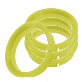 Пластиковое центровочное кольцо К&К 67,1-63,4 желтые Ош