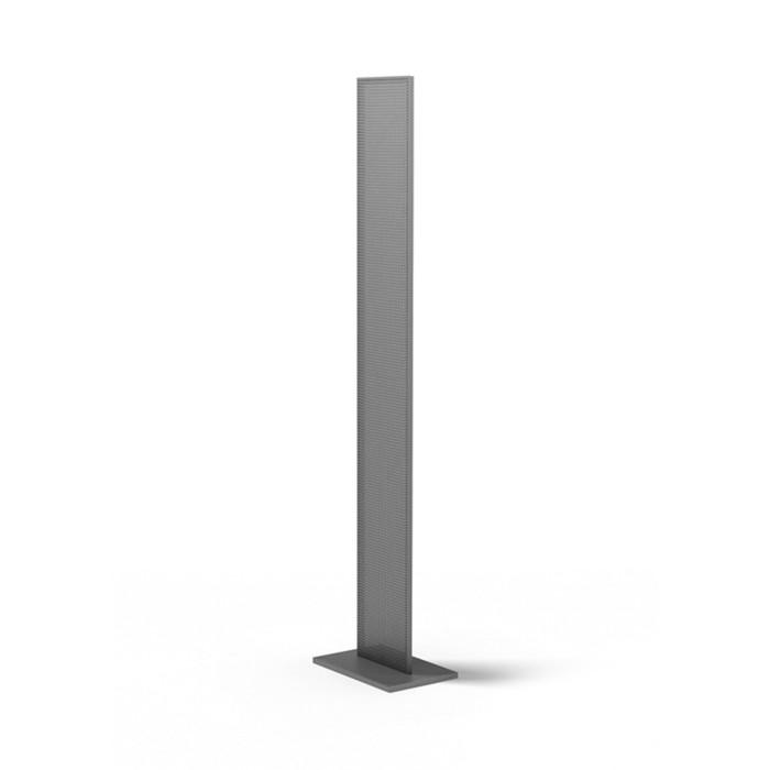 Буклетница Стелла 240*350*1600, шаг 12мм, цвет серебристый металлик