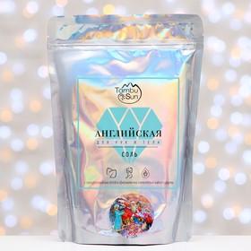 Английская соль Бизорюк «Для рук и тела» с эфирными маслами мяты, чайного дерева и гиалуроно   44590