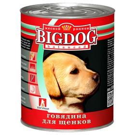 Влажный корм BIG DOG для щенков, ж/б, 850 г