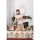"""Фартук """"Этель"""" Новогоднее настроение 70х60 см,100% хл,саржа 190гр/м2 - Фото 2"""