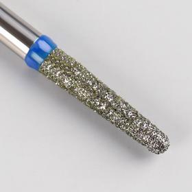 Фреза алмазная для маникюра «Игла», средняя зернистость, 2,3 × 10 мм Ош