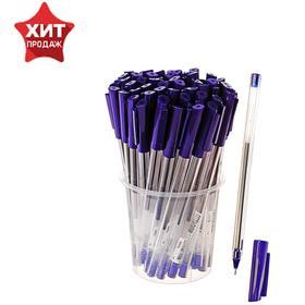 Ручка шариковая «Стамм», узел 0.7 мм, чернила синие, тонкое письмо, одноразовая