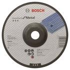 Круг обдирочный Bosch 2608603183, по металлу, вогнутый, 180х22.2 мм, 6 мм