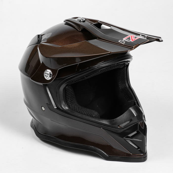 Шлем HIZER B6197-1, размер L, коричневый
