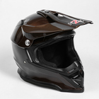 Шлем HIZER B6197-1, размер M, коричневый